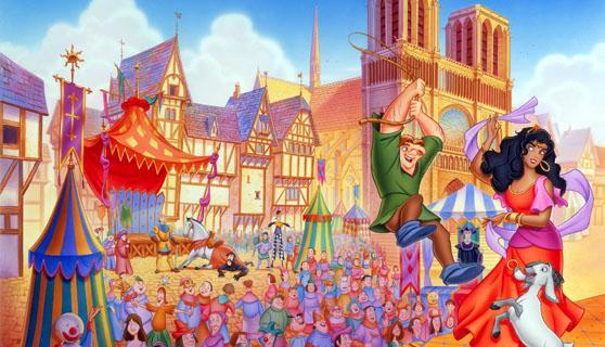 location dei cartoni Disney