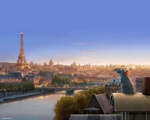 cartoni disney ambientati a parigi