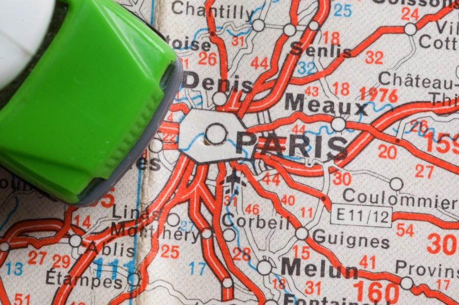 andare a parigi in auto