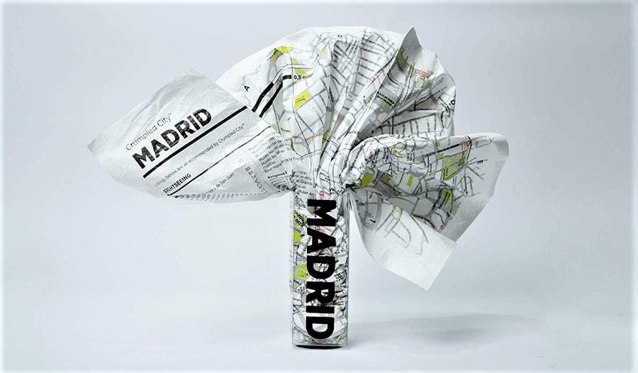 Mappa turistica Madrid
