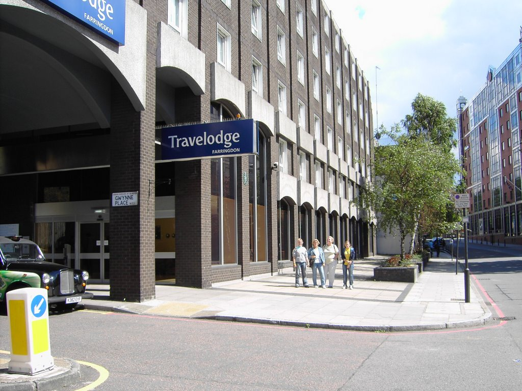 Travelodge London Kings Cross Royal Scot Hotel londra