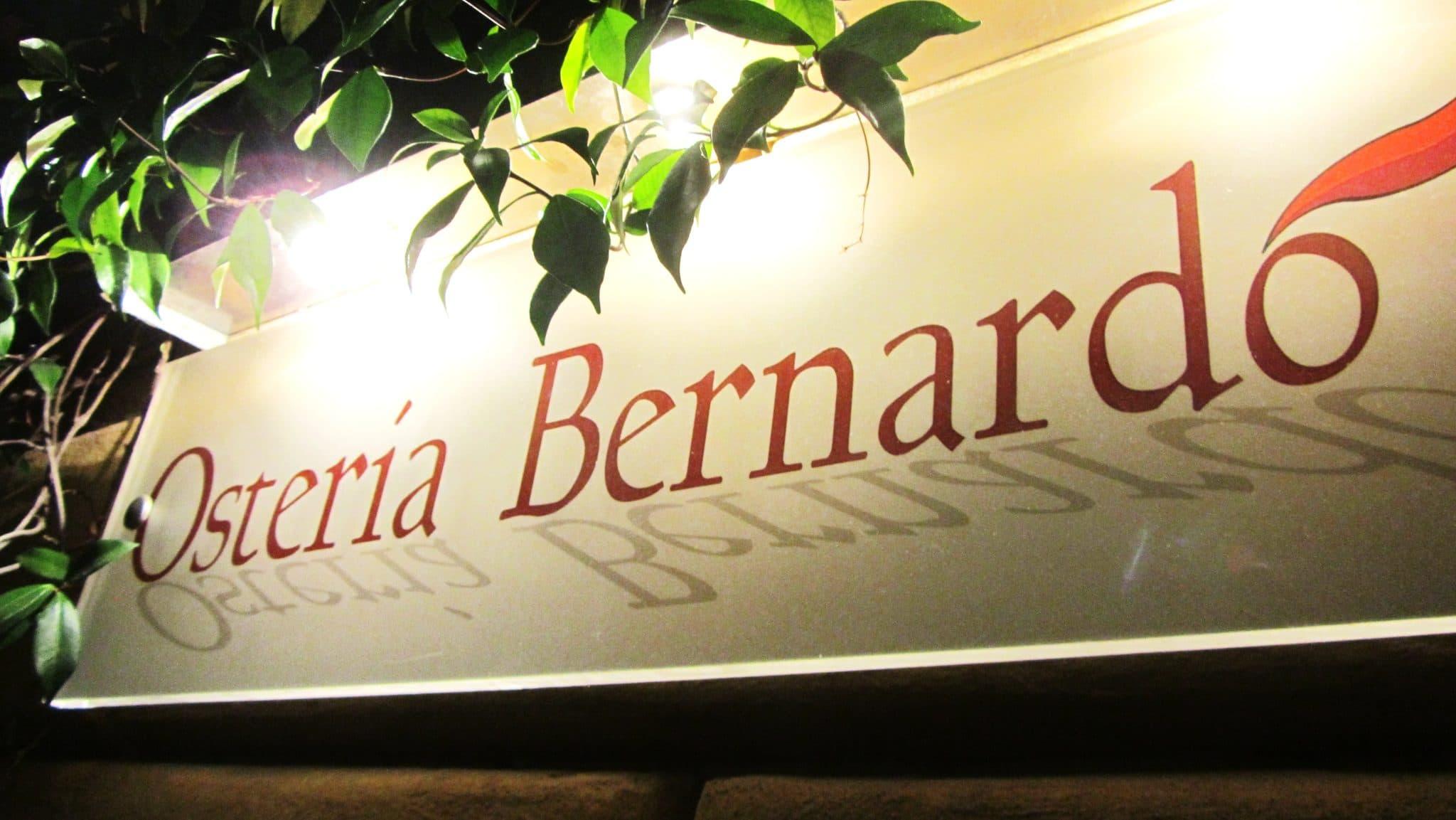 Osteria Bernardo Pisa