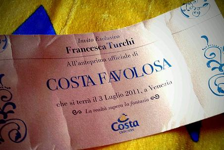 Inaugurazione Costa Favolosa Costa Crociere