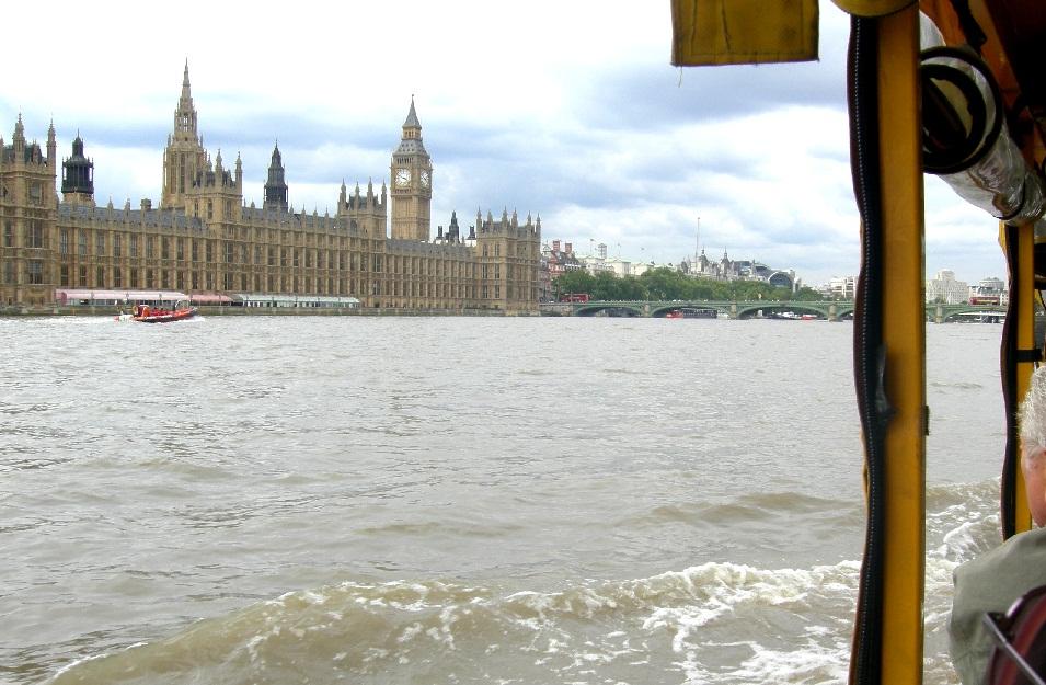 Girare Londra... su una papera!