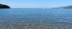 La spiaggia di Pareti all'Isola d'Elba