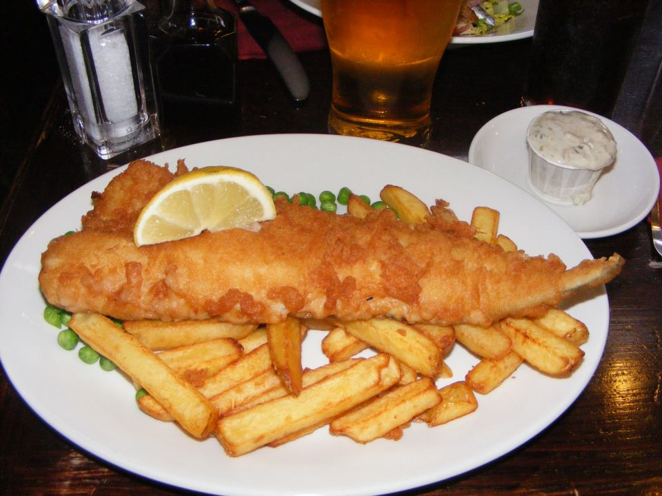 fish and chips Londra