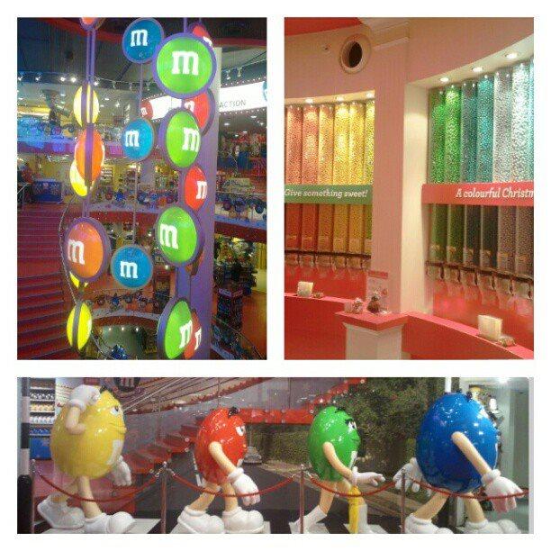 negozio M&M's a londra