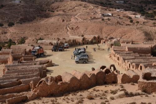 viaggio in Tunisiacon Land Rover