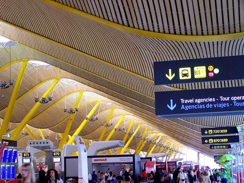 dall'aeroporto di madrid al centro