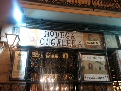 santander bodega cigalena: