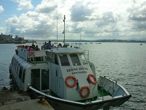 giro in barca bahia santander