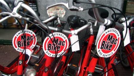 noleggiare una bicicletta a Amsterdam