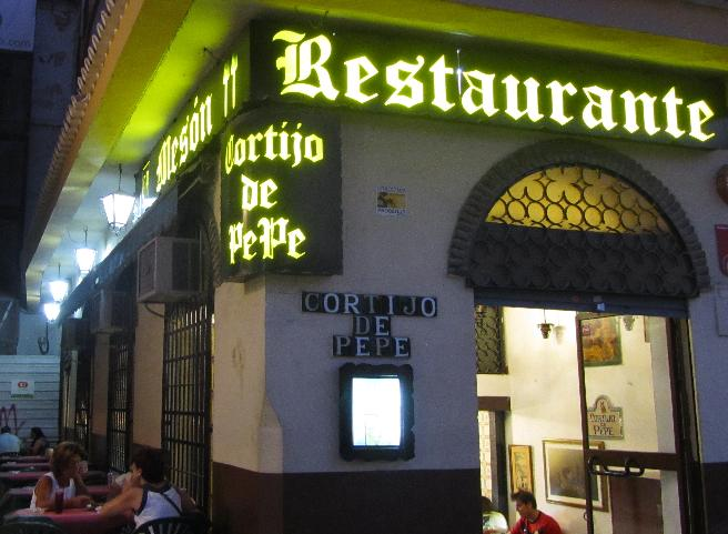 restaurante cortijo de pepe malaga