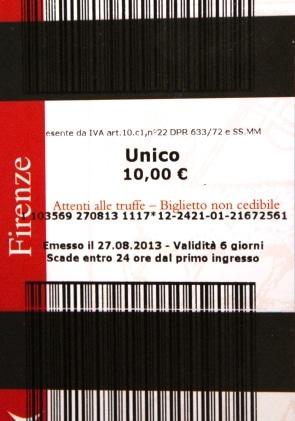 Biglietto unico Firenze