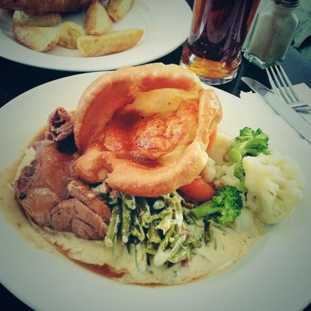 sunday roast londra