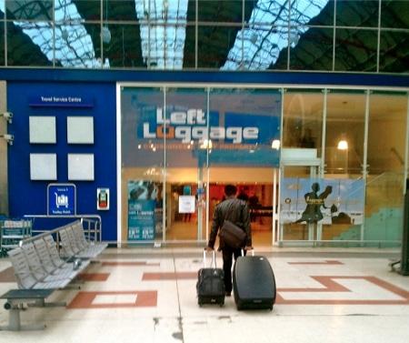 deposito bagagli a londra