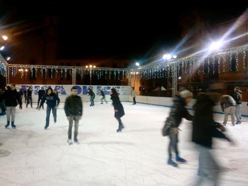 pattinaggio sul ghiaccio pisa