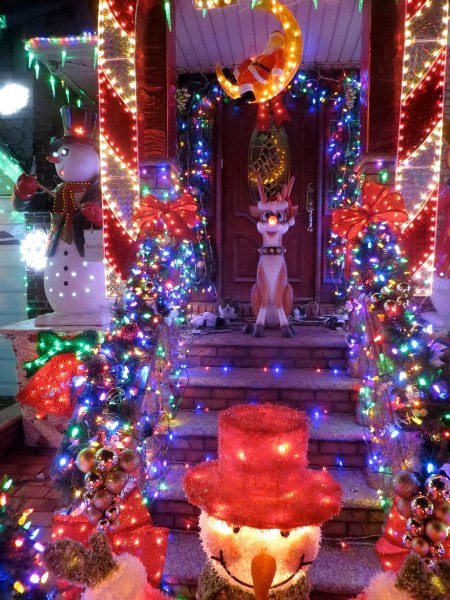 Tour Delle Luci Di Natale A Dyker Heights A New York