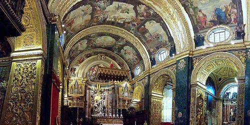 Concattedrale di San Giovanni, Valletta malta
