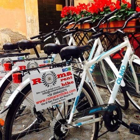 roma noleggio bici