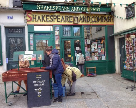 libreria shakespeare and company parigi