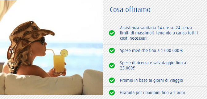 Assicurazione di viaggio europ assistance