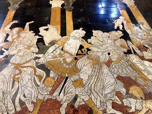 pavimento Duomo di Siena