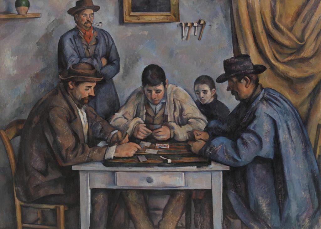 I giocatori di carte Cézanne