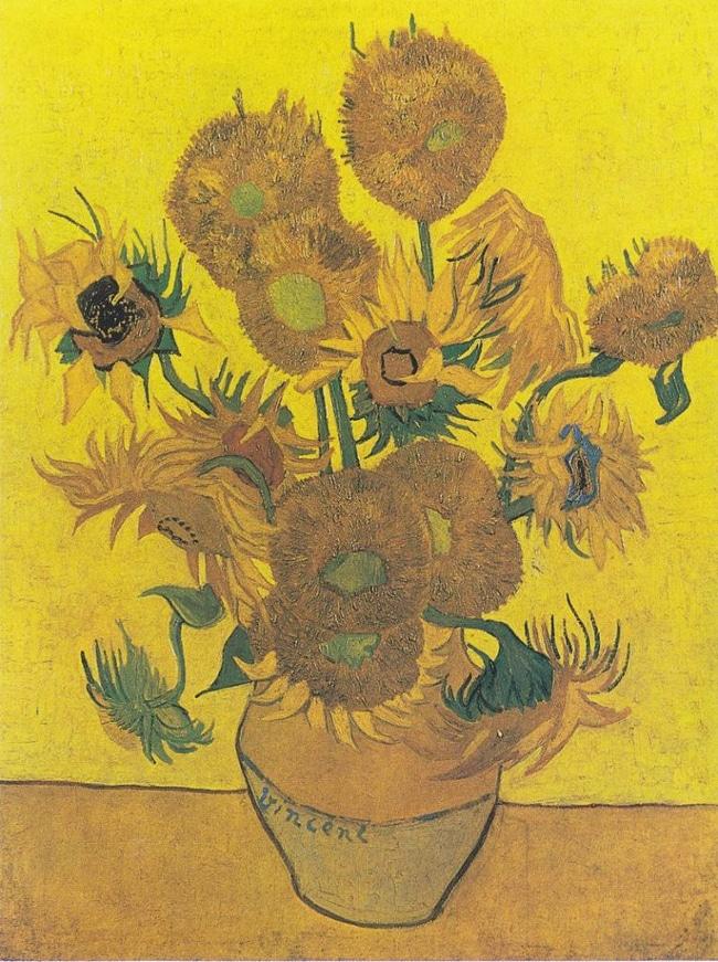 Girasoli Van Gogh amsterdam