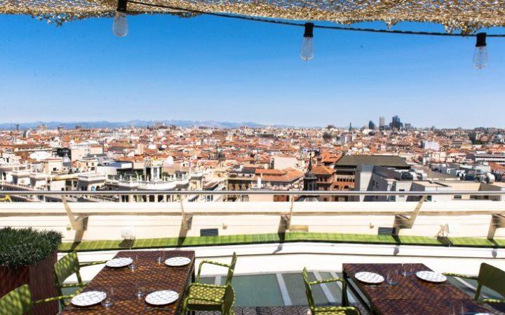 terrazza Circolo delle Belle Arti Madrid