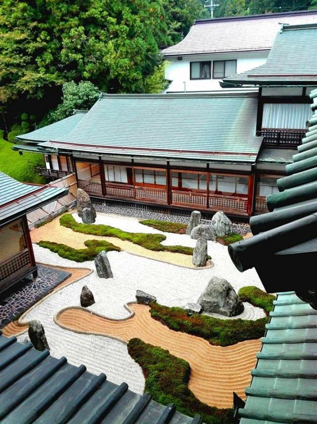 giardino zen tempio buddista Giappone