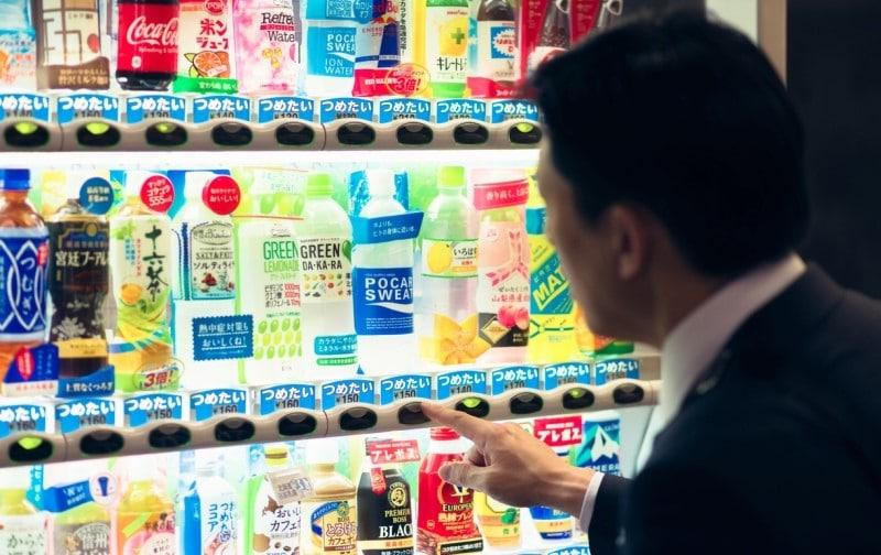 distributori automatici giappone