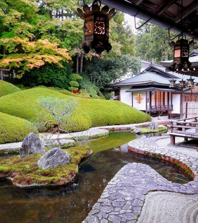 tempio buddista Koyasan Giappone