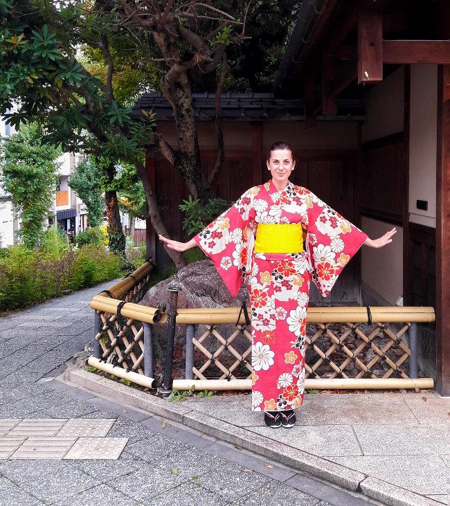 vestizione kimono