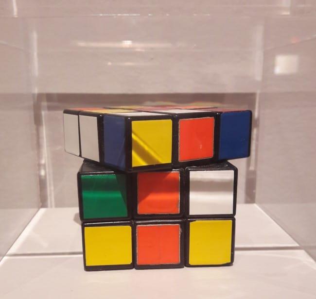 moma new york opere Cubo di Rubik