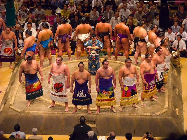 sumo tokyo giappone