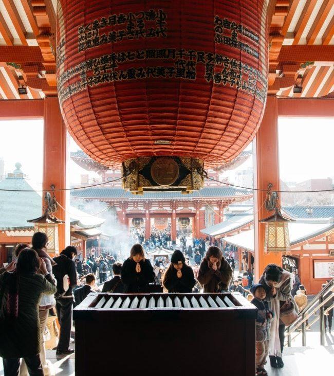 tempio Senso-ji tokyo