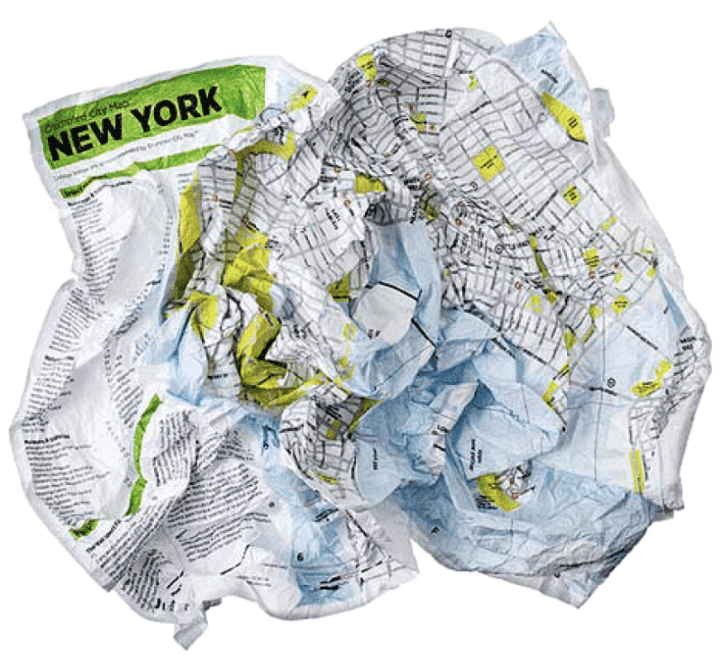 Mappa turistica New York