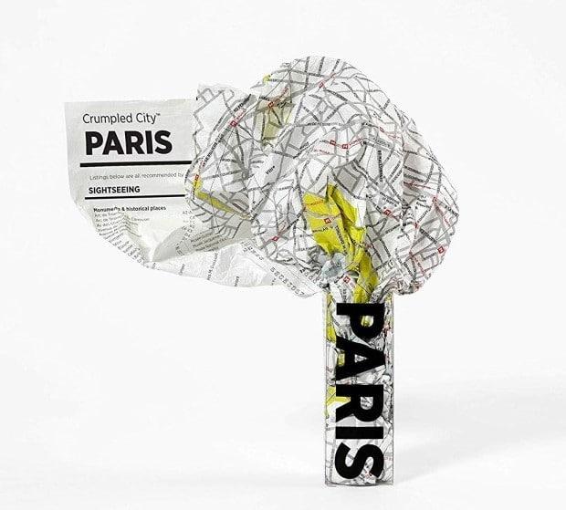 mappa turistica parigi