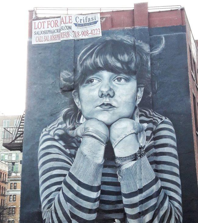 Mona Lisa Williamsburg New York