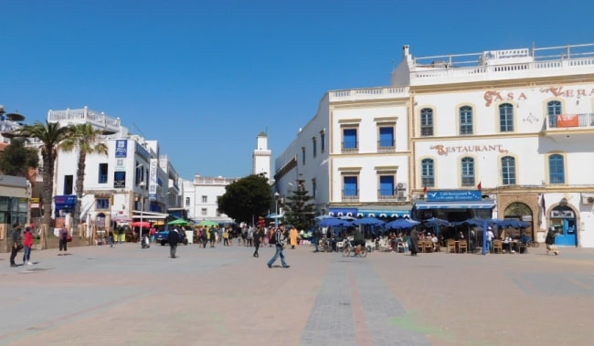 Place Moulay Hassan essaouira marocco