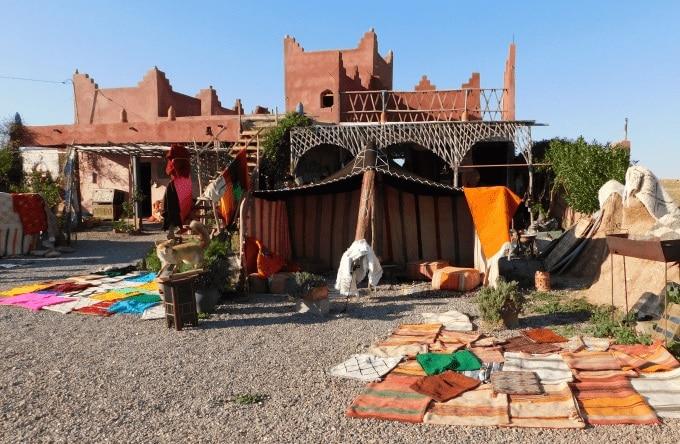 cafè tuareg marocco