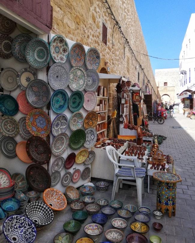 botteghe artigianali essaouira marocco