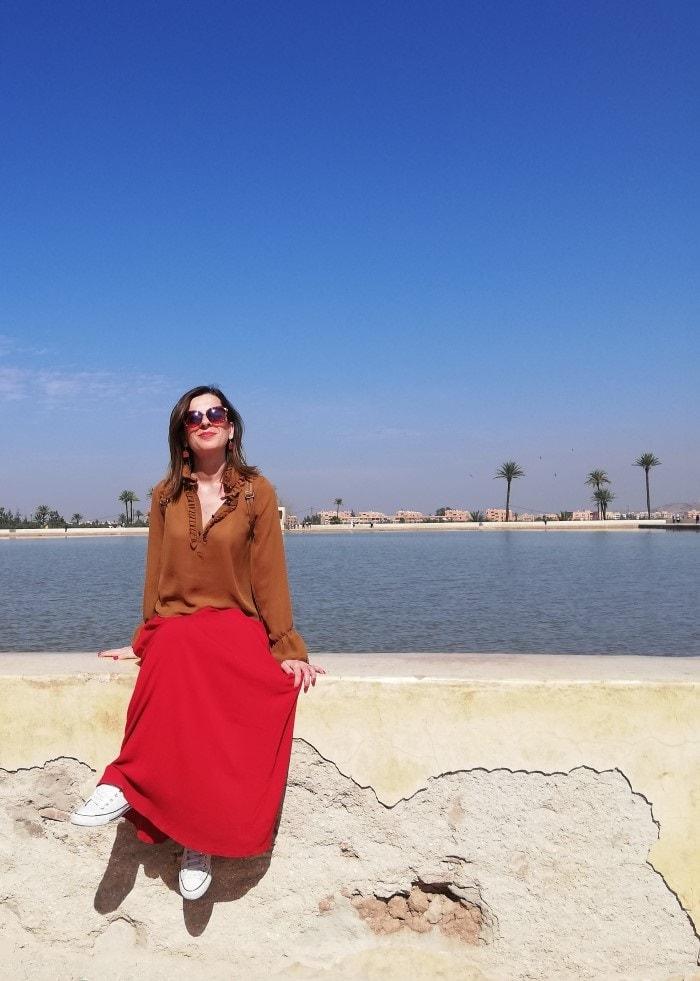 giardini menara marrakech