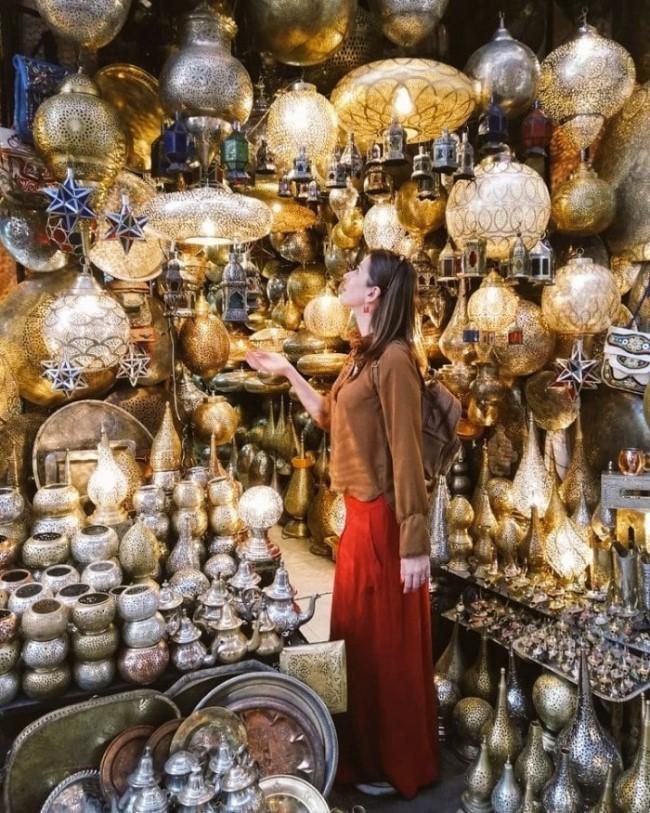 marrakech souk medina