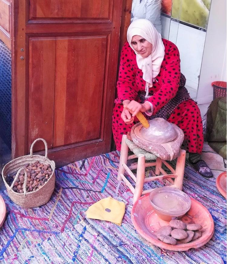 marrakech lavorazione olio argan