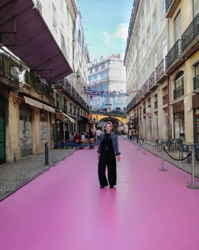 pink street lisbona
