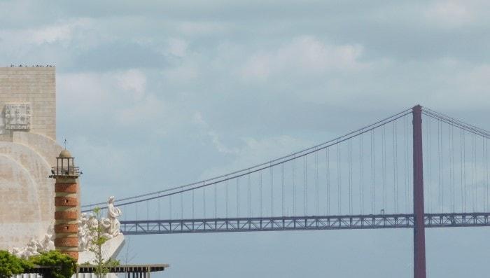 Ponte 25 de Abril Lisbona