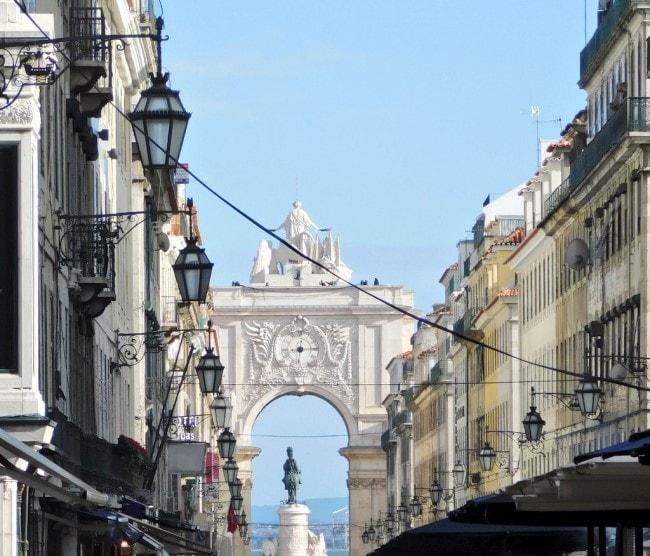 Rua Augusta Lisbona