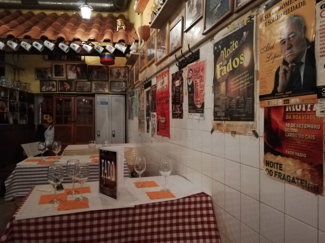 ristorante con fado lisbona